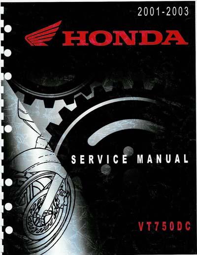 Workshop Manual for Honda SS750 (2001-2002)