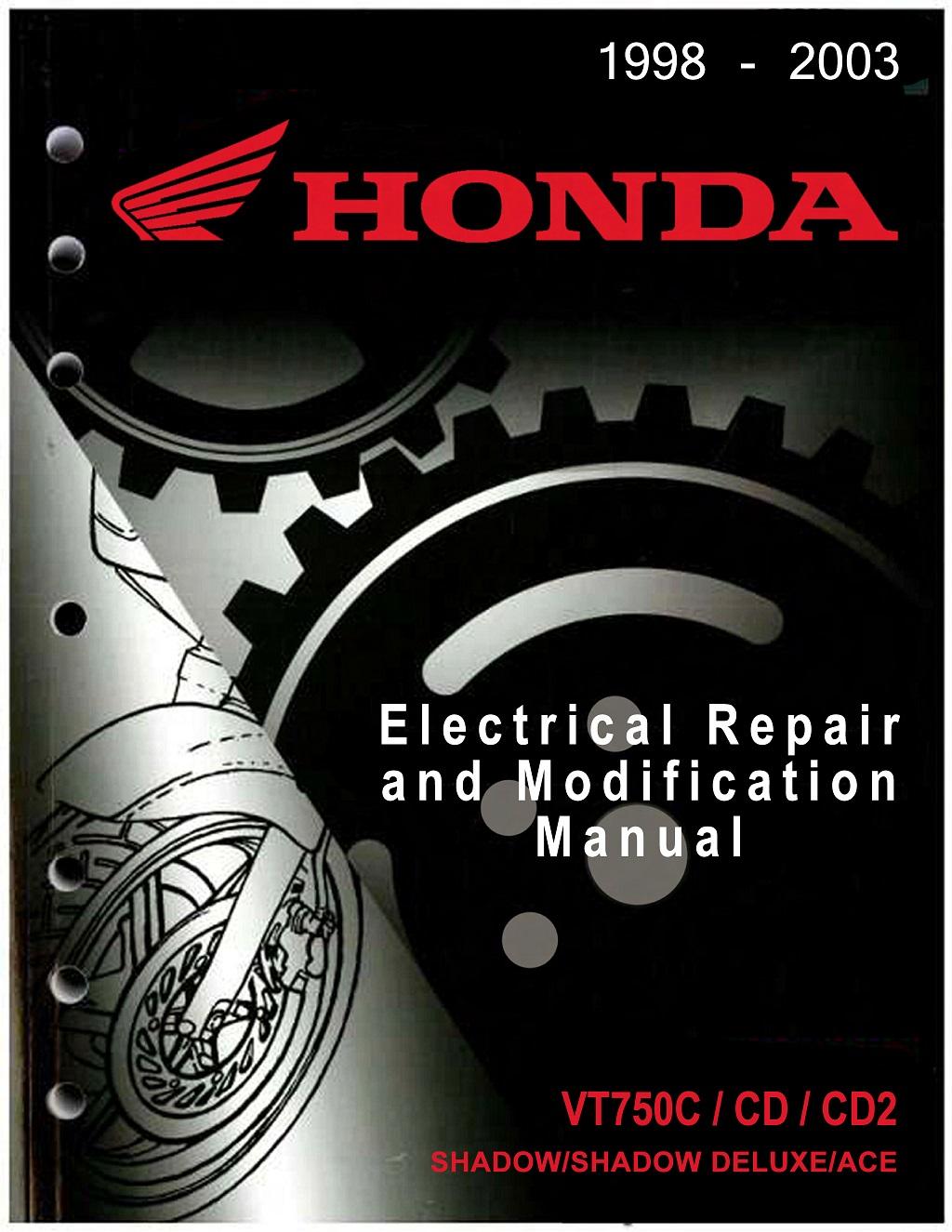 Workshop Manual for Honda VT750CD (1998-2003) Electrial Repair and Modification Manual