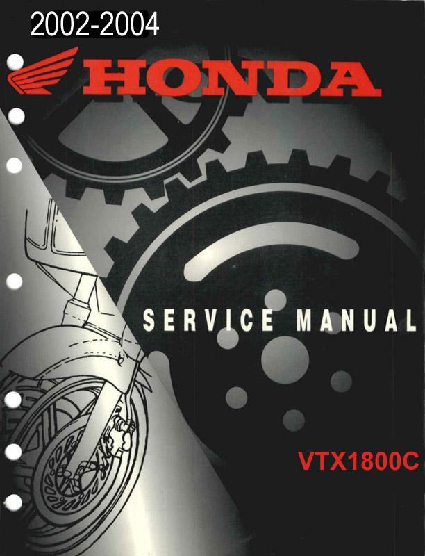Workshop Manual for Honda VTX1800C (2002-2004)