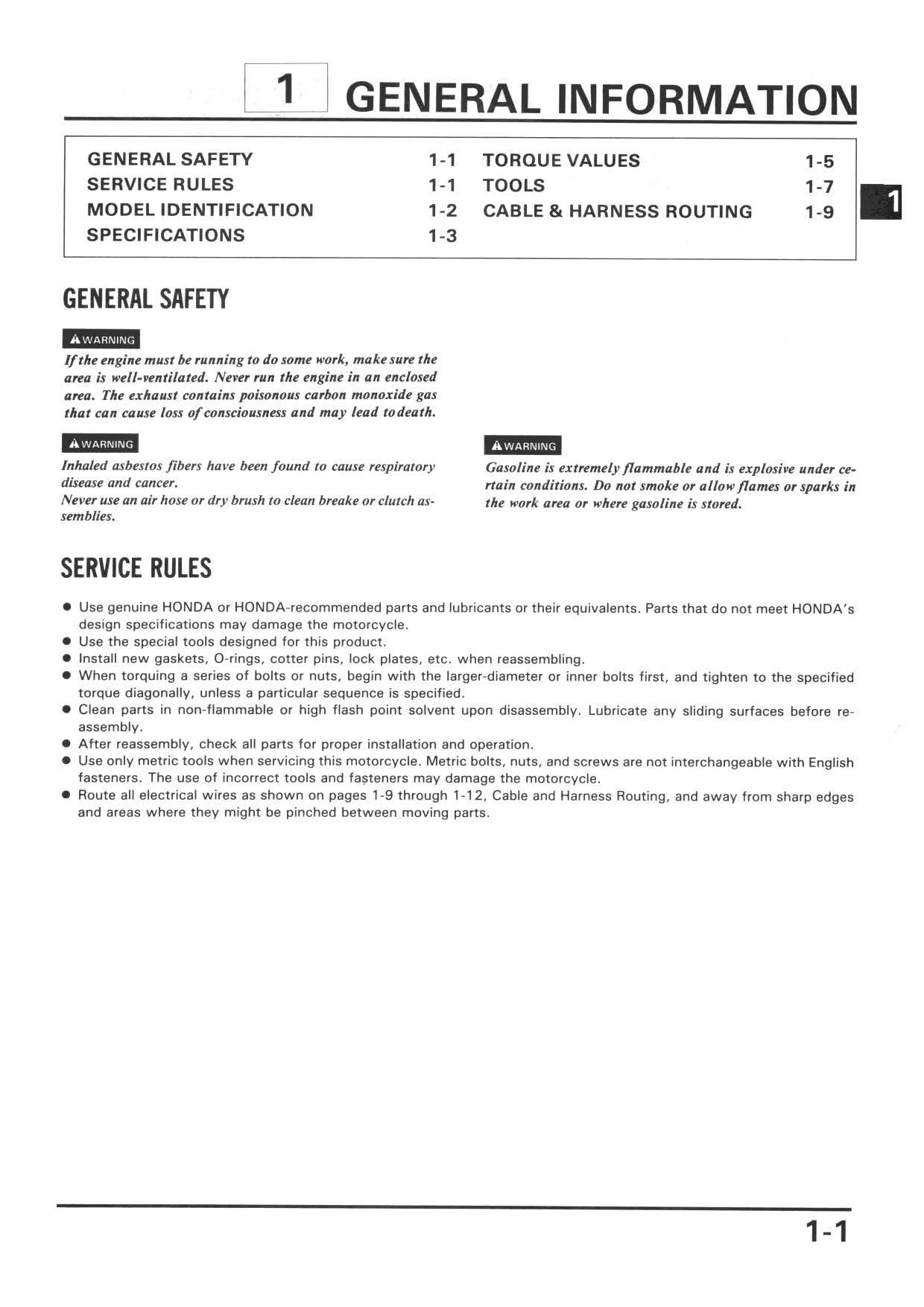 Workshop Manual for Honda XR600R (Multi-lingual)
