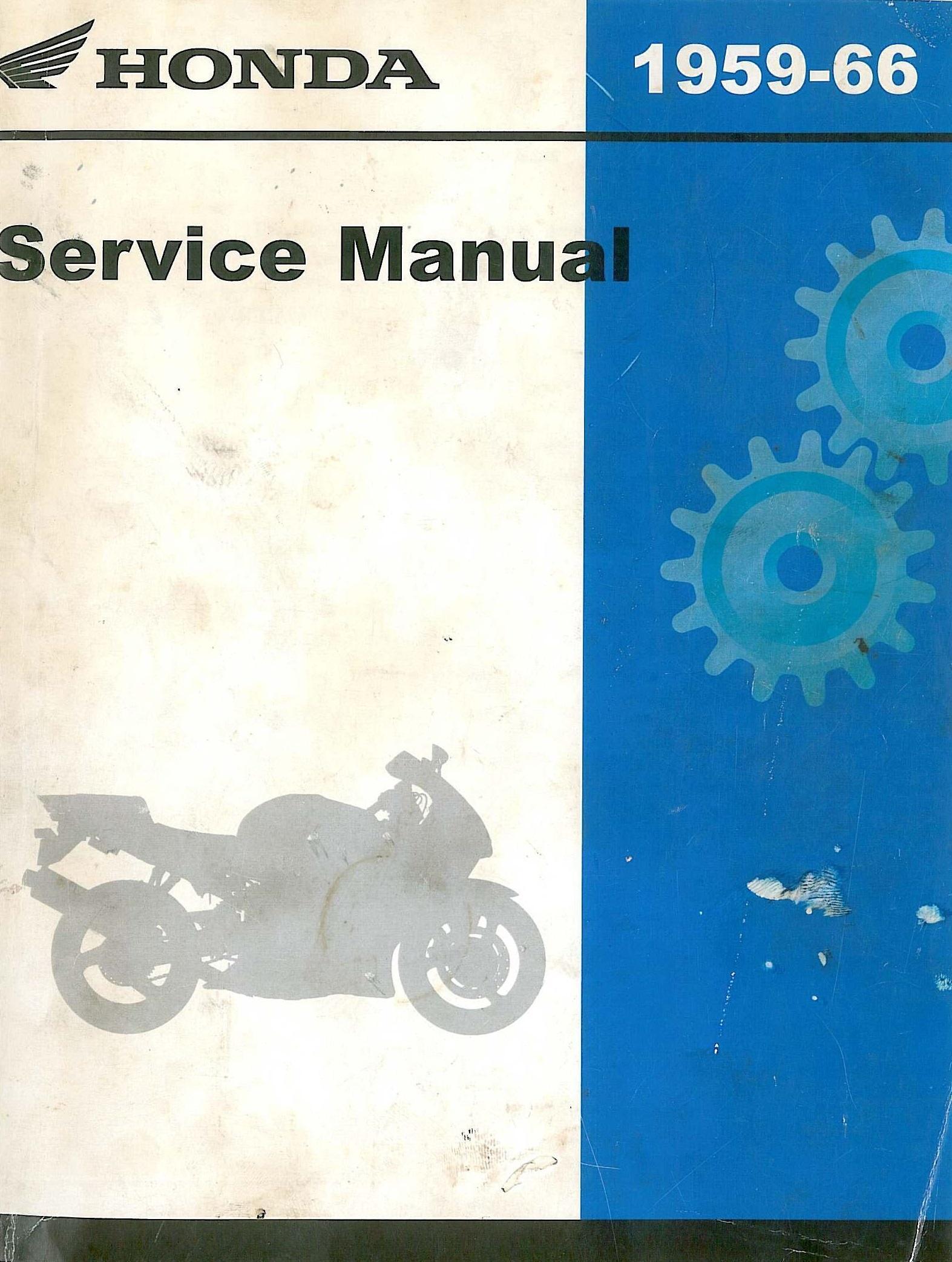 Workshopmanual For Honda C95 (1959-1966)