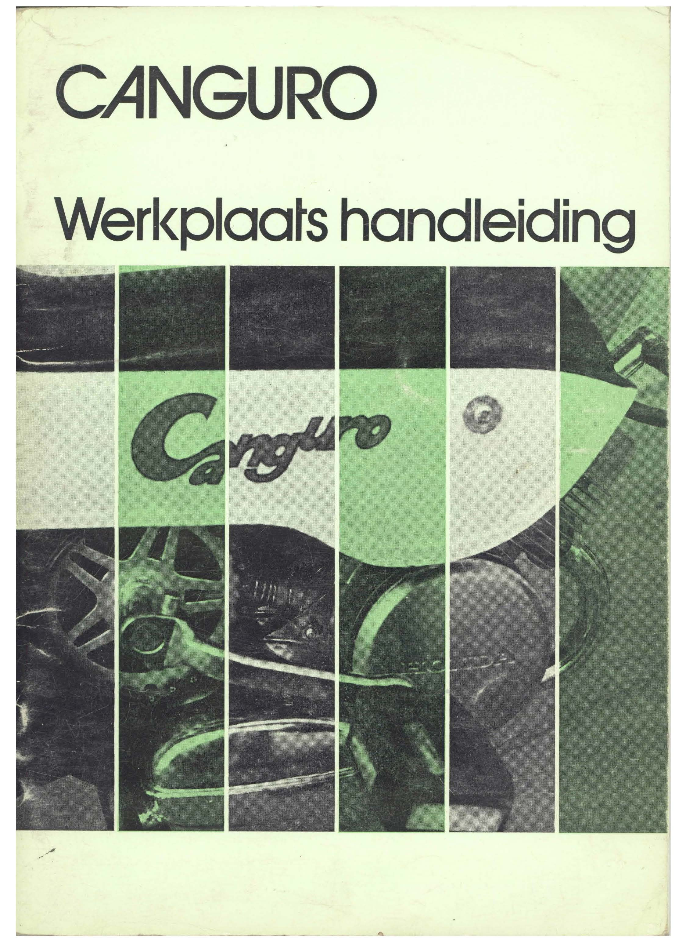 Workshop manual for Honda Canguro (Dutch) (1973)